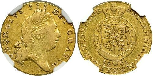 1/2 Гинея Соединённое королевство Великобритании и Ирландии (1801-1922) Золото Георг III (1738-1820)