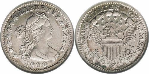 1/2 Дайм / 5 Цент США (1776 - ) Серебро