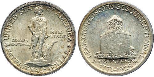 1/2 Долар США (1776 - )