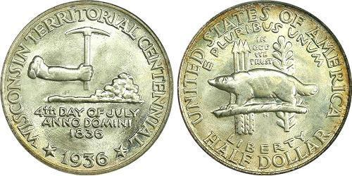 1/2 Доллар США (1776 - )