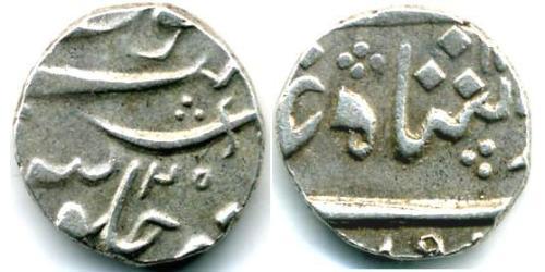 1/2 Рупия Индия (1950 - ) Серебро