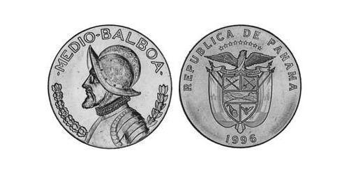 1/2 Balboa Republic of Panama Copper/Nickel Vasco Núñez de Balboa (1475 – 1519)