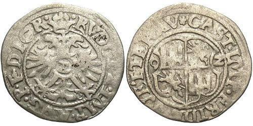 1/2 Batz States of Germany Silver Rudolf II, Holy Roman Emperor (1552 - 1612)