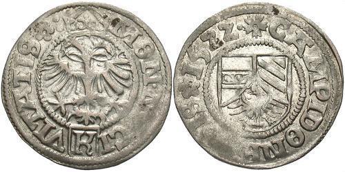 1/2 Batz Germany / States of Germany Silver