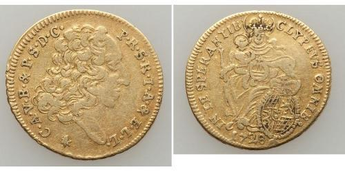 1/2 Carolin Electorate of Bavaria (1623 - 1806) Gold