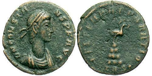 1/2 Centenionalis Roman Empire (27BC-395) Bronze Constans I (320-350)