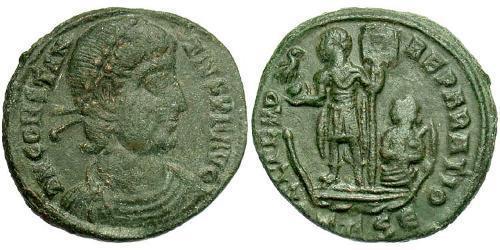 1/2 Centenionalis Roman Empire (27BC-395) Bronze Constantius II (317 - 361)