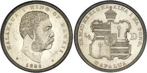 1/2 Dollaro Stati Uniti d