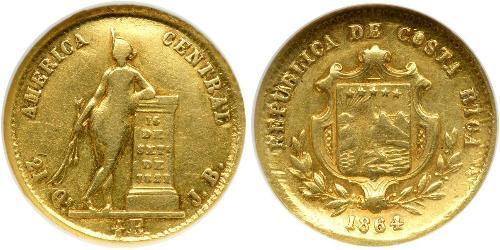 1/2 Escudo Costa Rica Or