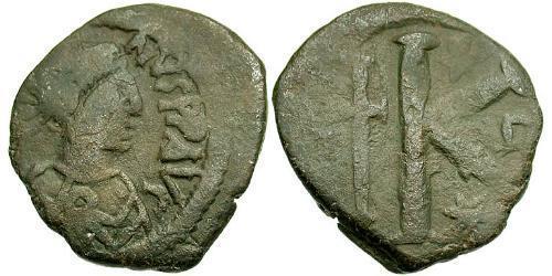 1/2 Follis Byzantine Empire (330-1453) Bronze Justin I (450-527)