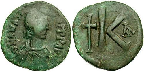 1/2 Follis Byzantine Empire (330-1453) Bronze Anastasius I (430-518)