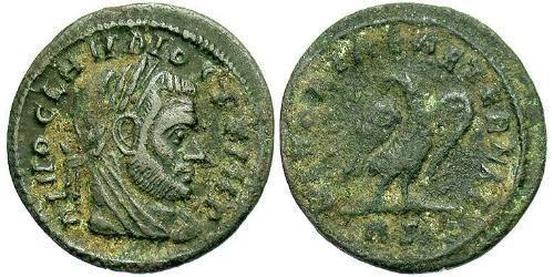 1/2 Follis Roman Empire (27BC-395) Bronze Claudius II  (213-270)