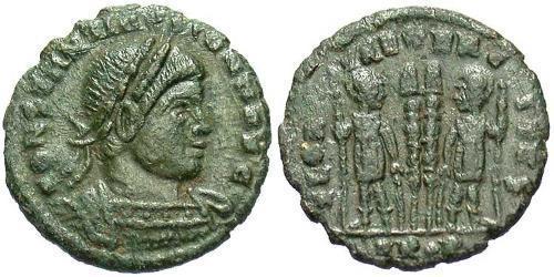 1/2 Follis Roman Empire (27BC-395) Bronze Constantius II (317 - 361)