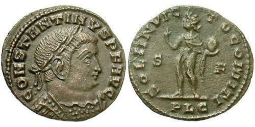 1/2 Follis Roman Empire (27BC-395) Bronze Constantine I (272 - 337)