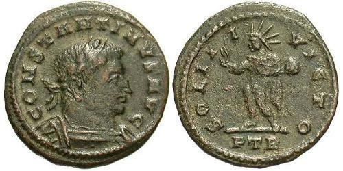 1/2 Follis Roman Empire (27BC-395) Bronze Constantine I (272 - 337)