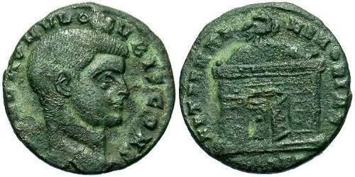 1/2 Follis Western Roman Empire (285-476) Bronze