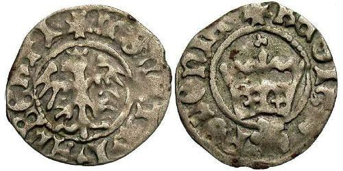 1/2 Grosh Kingdom of Poland (1025-1569) Silver John I Albert (1459-1501)
