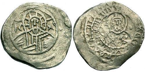 1/2 Hyperpyron Byzantine Empire (330-1453) Silver John VIII Palaiologos (1392-1448)