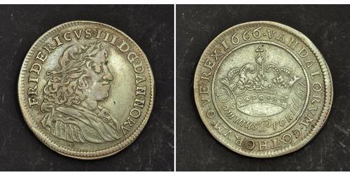 1/2 Krone Denmark Silver