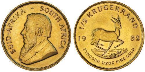 1/2 Krugerrand Sudáfrica Oro