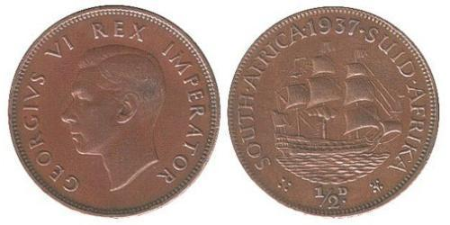 1/2 Penny South Africa Bronze