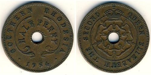 1/2 Penny Southern Rhodesia (1923-1980) Bronze