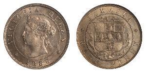 1/2 Penny Jamayica (1962 - ) Cuivre/Nickel Victoria (1819 - 1901)