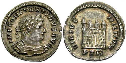 1/2 Siliqua Roman Empire (27BC-395) Silver Constantine I (272 - 337)