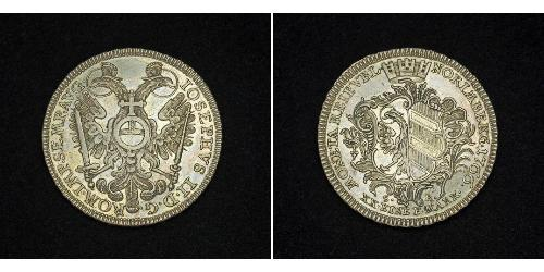 1/2 Thaler States of Germany Plata