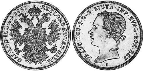 1/2 Thaler Austrian Empire (1804-1867) Silver