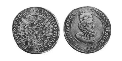 1/2 Thaler Holy Roman Empire (962-1806) Silver
