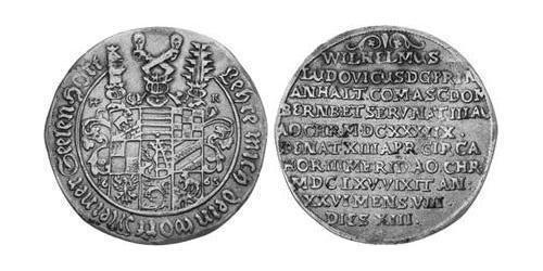 1/2 Thaler Principality of Anhalt-Köthen (1603 -1853) Silver