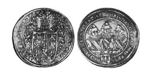 1/2 Thaler Principality of Ansbach (1398–1792) Silver