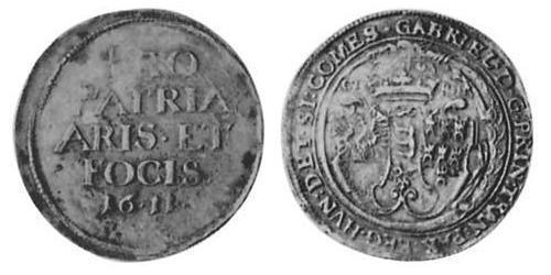 1/2 Thaler Principality of Transylvania (1571-1711) Silver