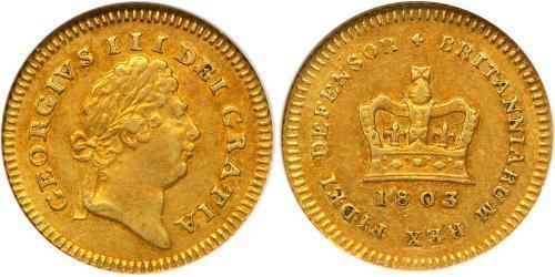 1/3 Гінея Сполучене королівство Великобританії та Ірландії (1801-1922) Золото Георг III (1738-1820)