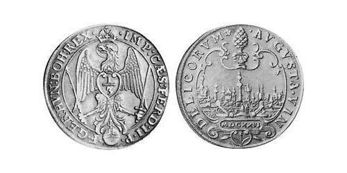 1/3 Thaler Imperial City of Augsburg (1276 - 1803) Silver Ferdinand II, Holy Roman Emperor  (1578 -1637)