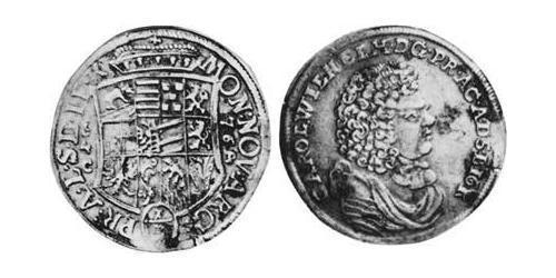 1/3 Thaler Principality of Anhalt-Zerbst (1544 - 1796) Silver Karl, Prince of Anhalt-Zerbst (1652 – 1718)