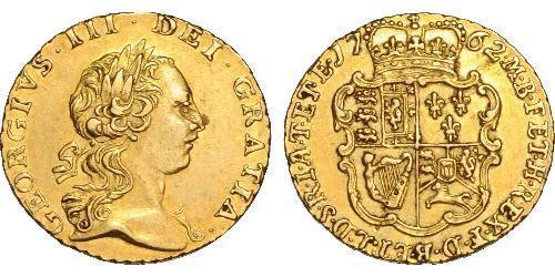1/4 Гинея Королевство Великобритания (1707-1801) Золото Георг III (1738-1820)