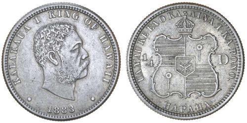 1/4 Долар / 25 Цент США (1776 - ) Срібло