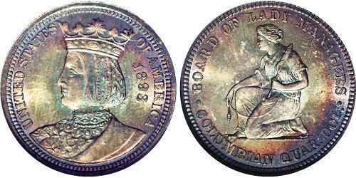 1/4 Доллар / 25 Цент США (1776 - )