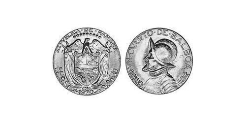 1/4 Balboa  Copper/Nickel Vasco Núñez de Balboa (1475 – 1519)