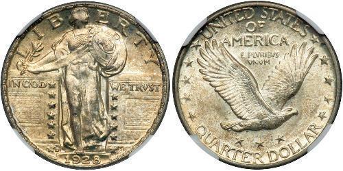 1/4 Dollar USA (1776 - ) Silver