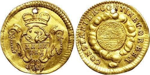 1/4 Ducat Principality of Transylvania (1571-1711) Gold