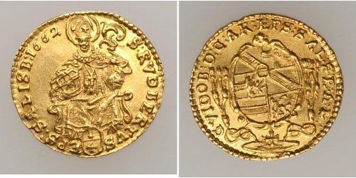 1/4 Ducat Salzburgo Oro