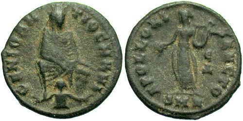 1/4 Follis Roman Empire (27BC-395) Bronze Maximinus II (270 - 313)