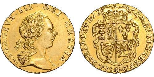 1/4 Guinea Royaume de Grande-Bretagne (1707-1801) Or George III (1738-1820)