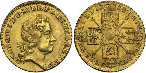 1/4 Guinea Regno Unito di Gran Bretagna (1707-1801) / Regno Unito  Oro Giorgio I (1660-1727)