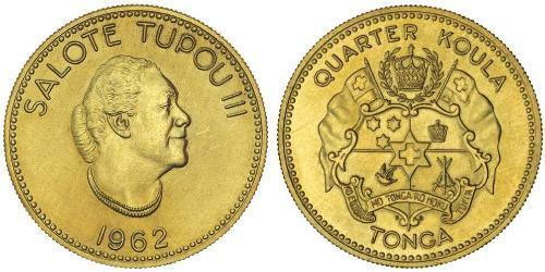 1/4 Koula Tonga Gold