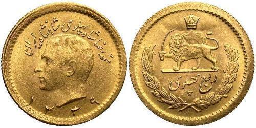 1/4 Pahlavi Iran Gold