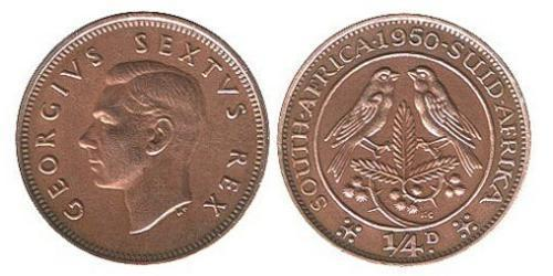 1/4 Penny South Africa Bronze